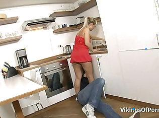 kitchen xxxn video